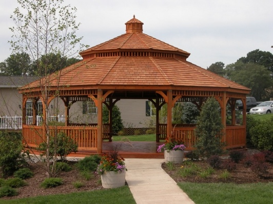 23 Interesting Gazebo Ideas for Your Garden