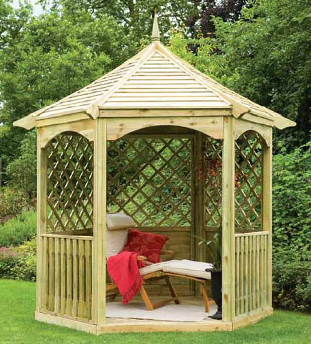 23 interesting gazebo ideas for your garden style motivation for Ideas for your garden