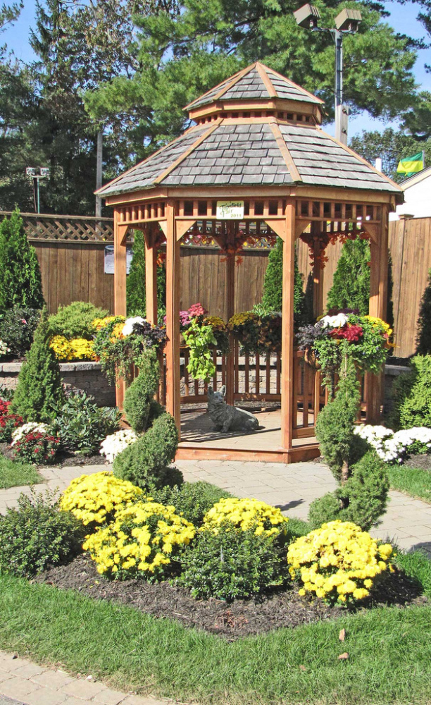 23 Interesting Gazebo Ideas for Your Garden - Style Motivation