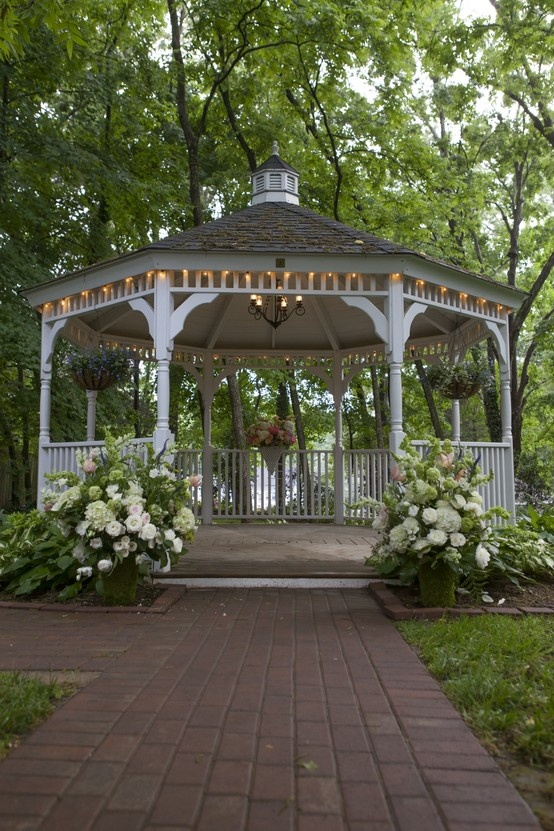 Gazebo Backyard Ideas : 23 Interesting Gazebo Ideas for Your Garden  Style Motivation