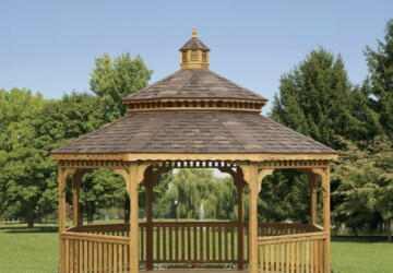 23 Interesting Gazebo Ideas for Your Garden - outdoors, ideas, Gazebo, garden, decor