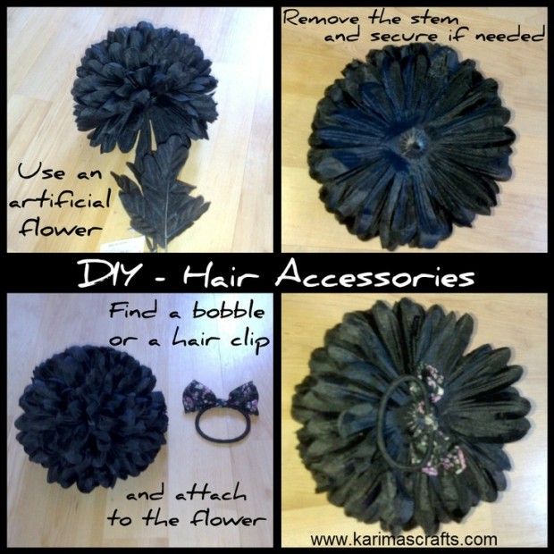 25 Stylish DIY Hair Accessories (10)