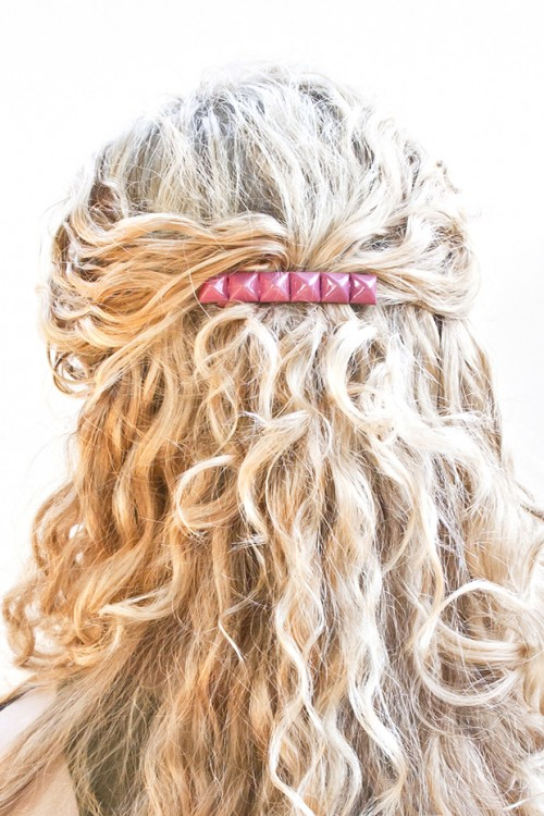 25 Stylish DIY Hair Accessories (15)