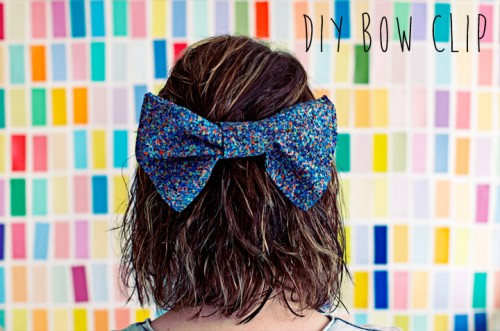 25 Stylish DIY Hair Accessories (19)