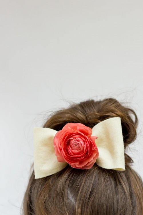 25 Stylish DIY Hair Accessories (24)
