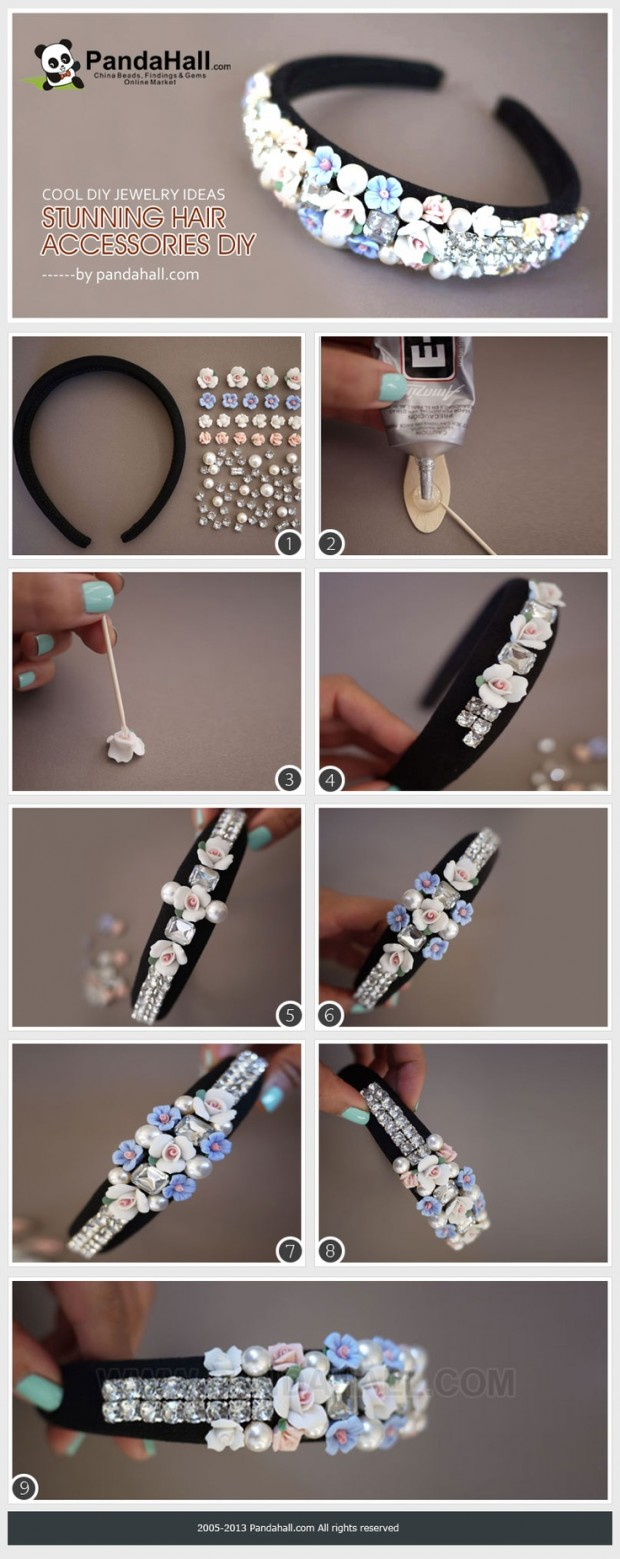 25 Stylish DIY Hair Accessories (6)