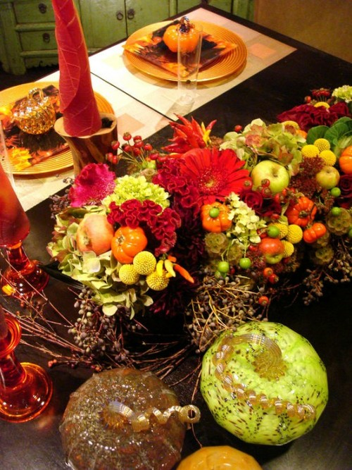 26 Great Fall Table Decorating Ideas (1)