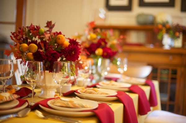 26 Great Fall Table Decorating Ideas (13)