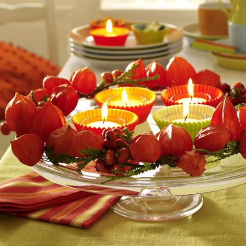 26 Great Fall Table Decorating Ideas (15)