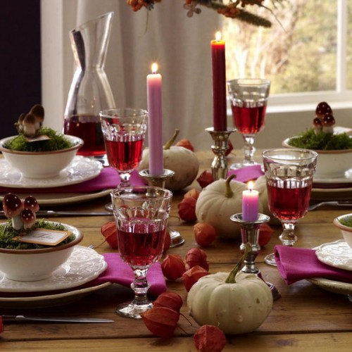26 Great Fall Table Decorating Ideas (16)