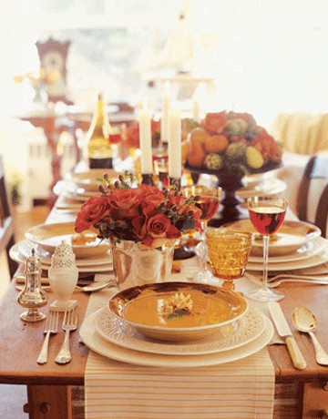 26 Great Fall Table Decorating Ideas (17)