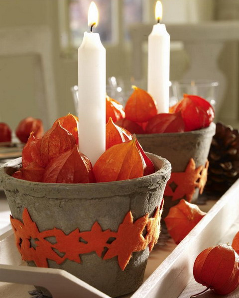26 Great Fall Table Decorating Ideas (20)