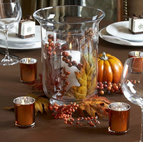 26 Great Fall Table Decorating Ideas (22)