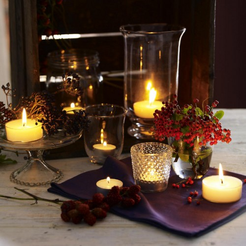 26 Great Fall Table Decorating Ideas (26)