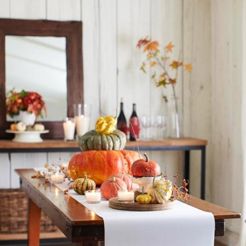 26 Great Fall Table Decorating Ideas (3)