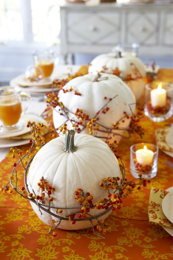 26 Great Fall Table Decorating Ideas (9)