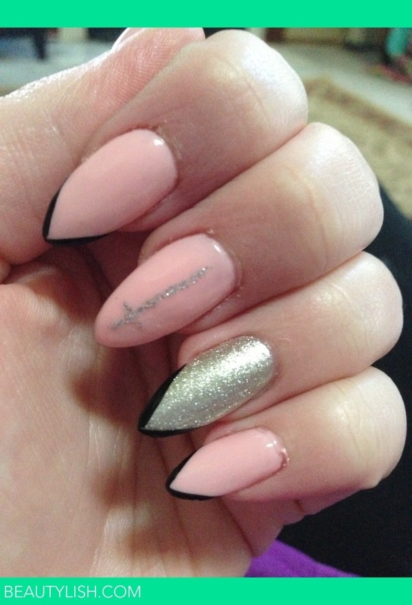 27 Amazing Pointed Nail Art Ideas (12)