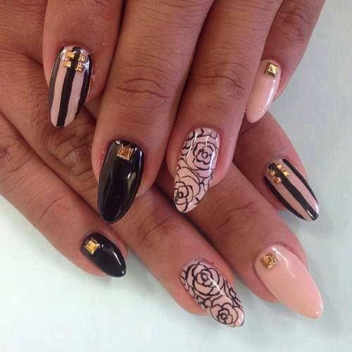 27 Amazing Pointed Nail Art Ideas (22)