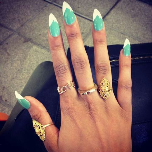 27 Amazing Pointed Nail Art Ideas (23)