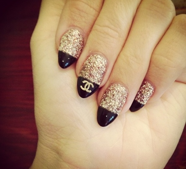 27 Amazing Pointed Nail Art Ideas (24)