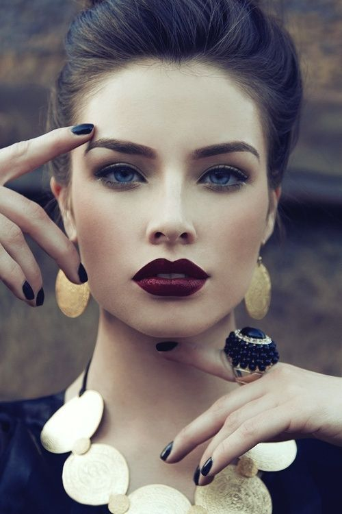30 Photos of The Best Fall Makeup Trends, Ideas and Tutorials (10)
