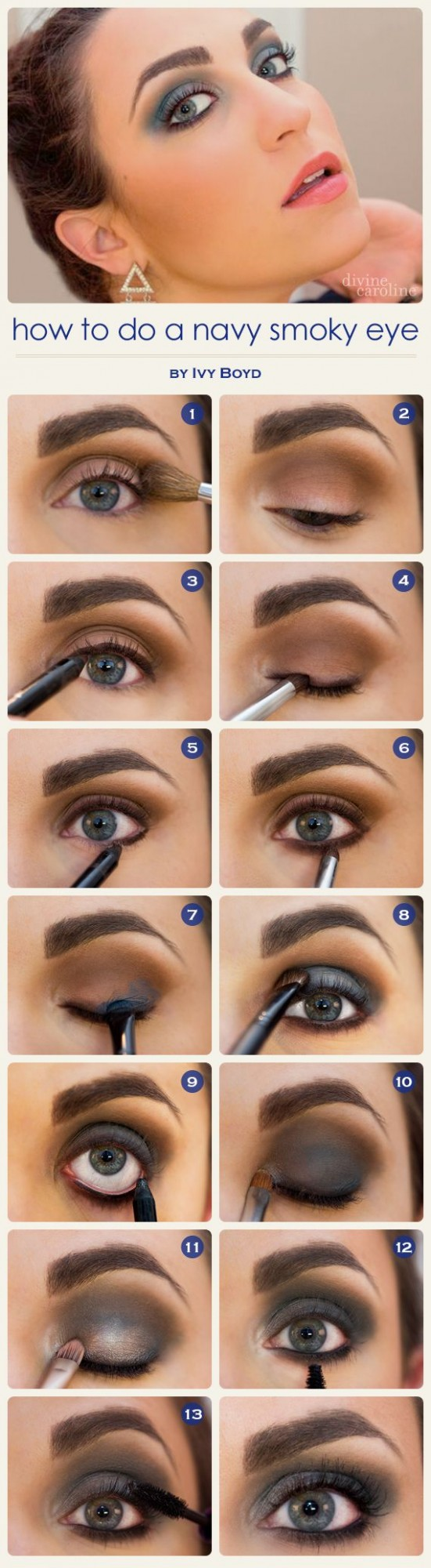 30 Photos of The Best Fall Makeup Trends, Ideas and Tutorials (7)