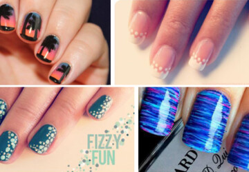 25 Fun and Easy Nail Art Tutorials - tutorials, Nail Art, fun, Easy