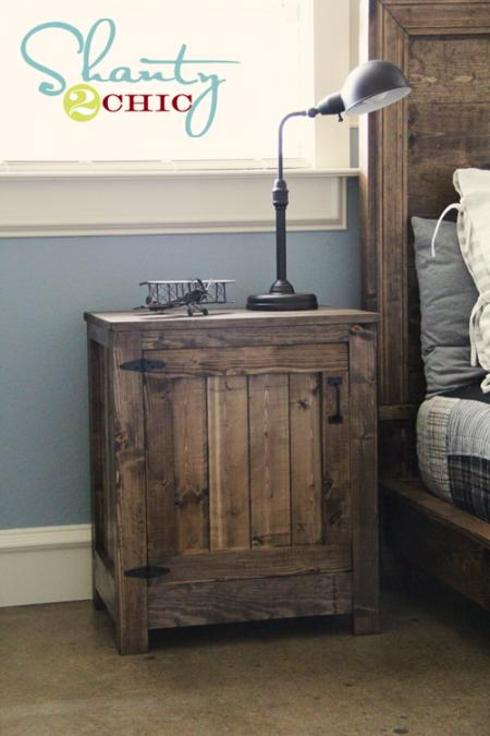 15 awesome diy nightstand ideas style motivation Simple bedside table designs