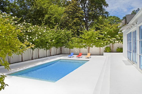 28 Amazing Poolside Designs Ideas