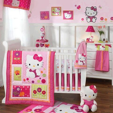 23 cute baby room ideas style motivation for Chambre hello kitty