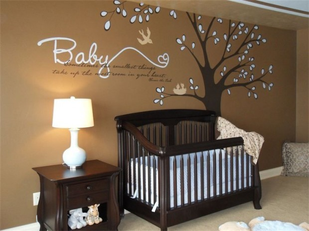 23 cute baby room ideas style motivation for Baby boy wall mural