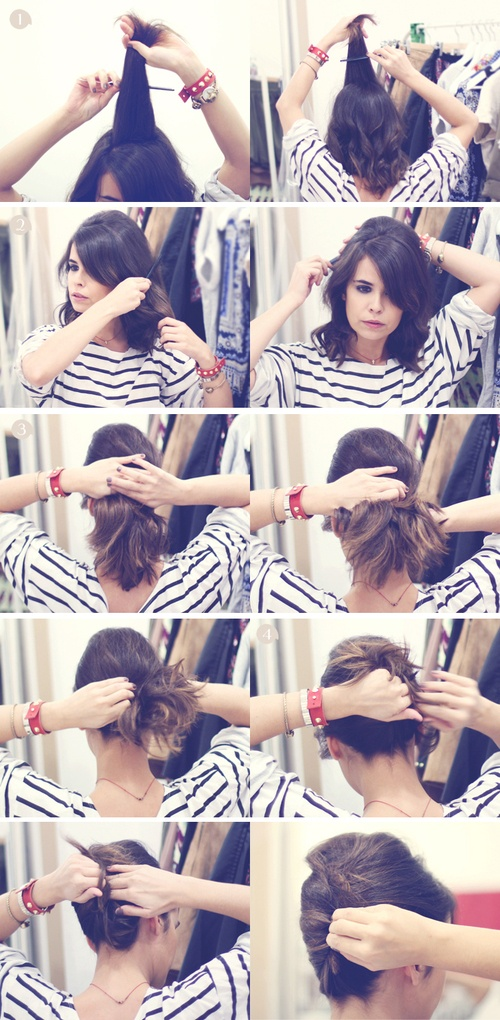 Great Short Hairstyle Ideas and Tutorials (17)