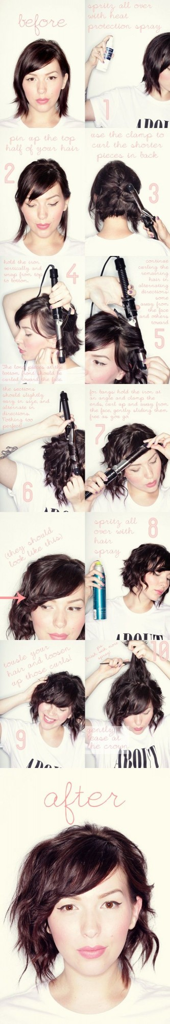 Great Short Hairstyle Ideas and Tutorials (8)