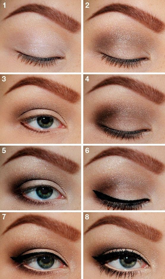 19 Tutorials Soft Style Motivation Makeup natural  and  eyeliner look Look and Ideas makeup Natural