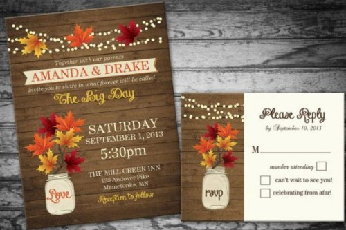 fall wedding invitations (11)