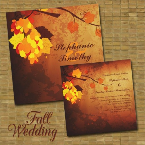 fall wedding invitations (15)