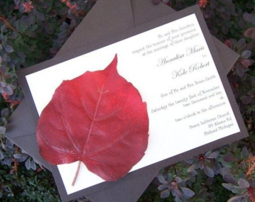 fall wedding invitations (16)