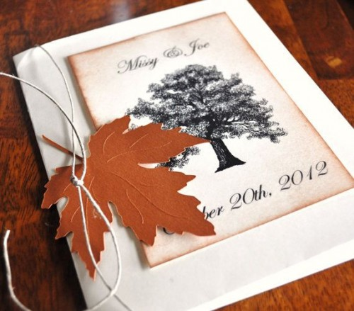 fall wedding invitations (17)