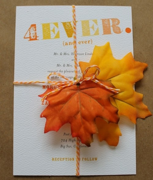 fall wedding invitations (19)