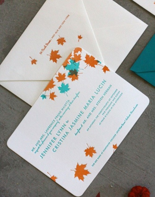 fall wedding invitations (3)