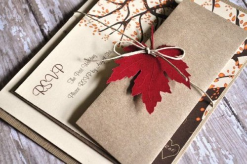 fall wedding invitations (5)