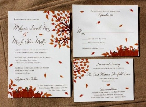 fall wedding invitations (6)