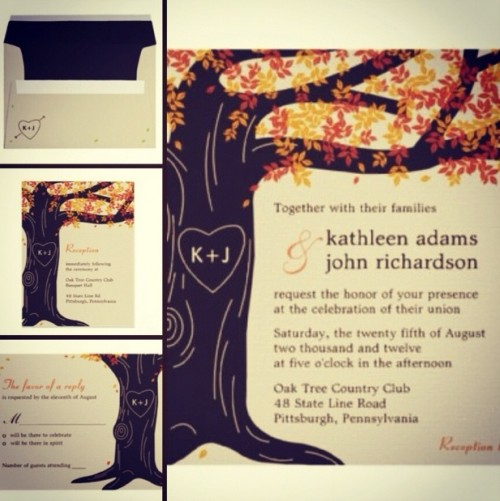 fall wedding invitations (7)