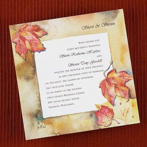 fall wedding invitations (9)