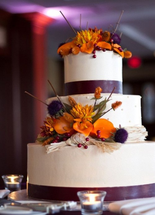 fall wedding cakes ideas 24 great ideas for fall wedding cake decoration style 14167
