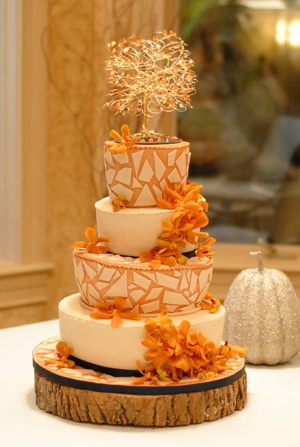 wedding cakes fall 24 great ideas for fall wedding cake decoration style 24337