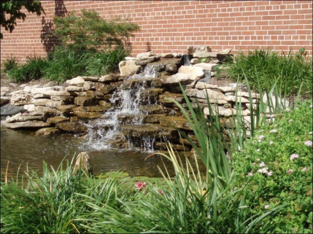 26 Amazing Garden Waterfall Ideas - Style Motivation