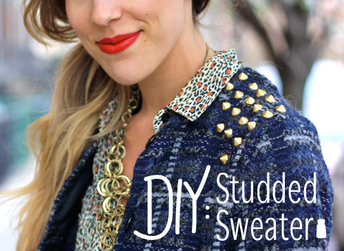 15 Amazing DIY Sweater Ideas