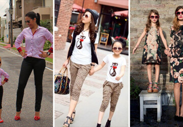 19 Adorable Mothers and Daughters Matching Outfit Ideas - Mothers and Daughters, Matching Outfit, ideas