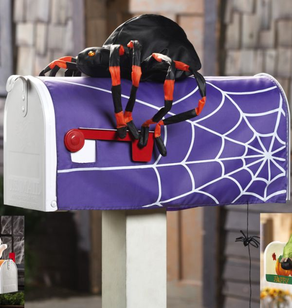 15 Fun and Scary Ideas How to Decorate Your Mailboxes for Halloween (5)